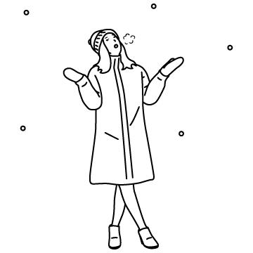 雪の日のサムネイル