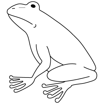 カエル(蛙)02のサムネイル
