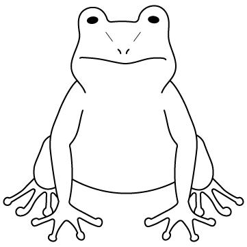 カエル(蛙)01のサムネイル