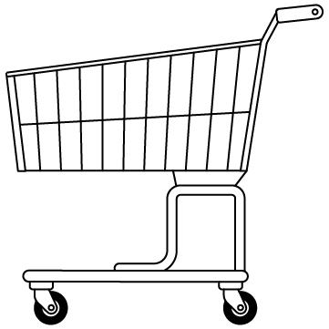 ショッピングカート 01のサムネイル