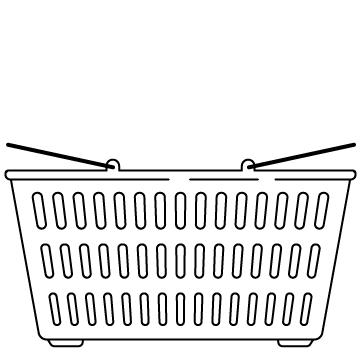 ショッピングのカゴ 01のサムネイル
