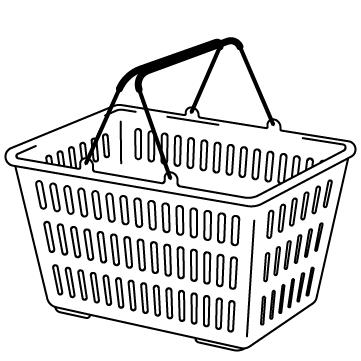 ショッピングのカゴ 02のサムネイル