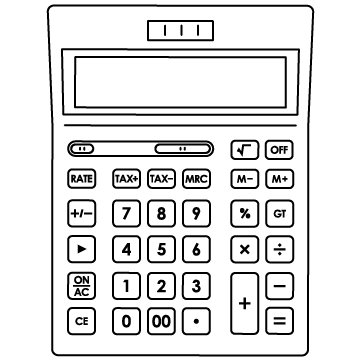 電卓(計算機)のサムネイル